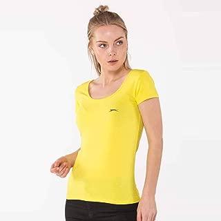 Slazenger YULYA Kadın T-Shirt Sarı