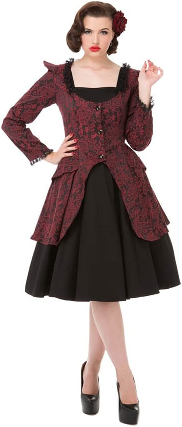 Hearts & pinks Victorian Suit (Shipped from US and US Sizes)
