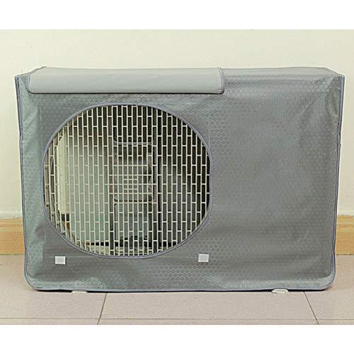 Klimaanlagen Abdeckung für Außengeräte, wasserdichte, staubdichte Sonnenschutzabdeckung (90 * 62 * 38cm)