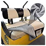 10L0L Golf Cart Summer Cooler Seat Cover for EZGO TXT RXV Club Car DS