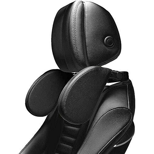 Kopfstütze Auto Kinder - XREXS Nackenkissen Auto Breite und Höhe einstellbar, Pu-leder mit weichem gedächtnisschaum, für kinder und erwachsene, Nackenstütze Auto