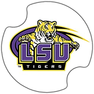 Thirstystone Louisiana State University Car Cup Holder Coaster, 2-Pack