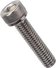 M8-1.25 x 40mm Socket Head Cap Screws Metric, Allen Socket Drive, Stainless Steel 304, Full Thread, Bright Finish, Machine Thread, 10 PCS