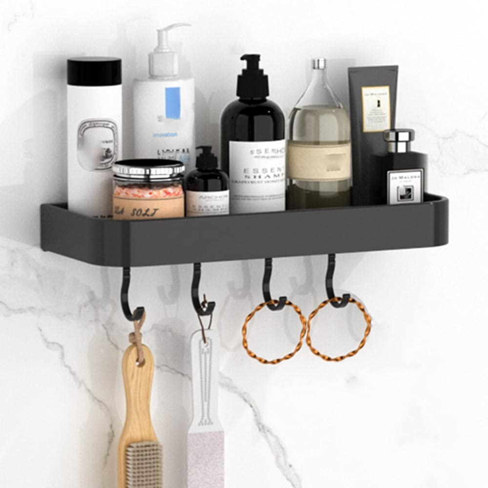 Shower trend rank Caddie Black Selling Organizer Drilling No Bathroom Shelf