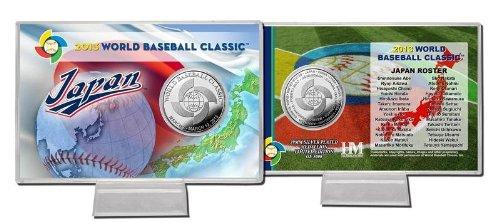 Japan World Baseball Classic Silver Coin Card