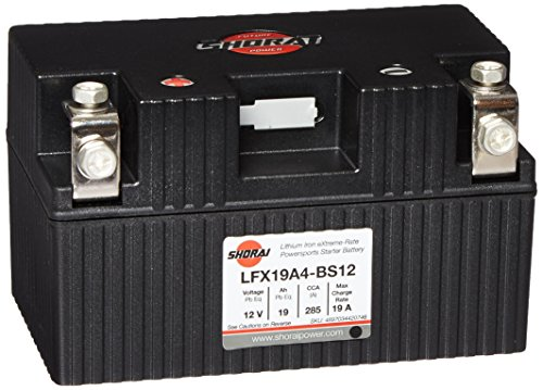 Shorai LFX19A4-BS12 Lithium Battery