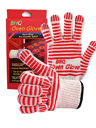 CZSYZCZS Oven Handschoenen, Hot Surface Handler, Oven Mitts - Koken, Aanpassen, Repareren & Werk Veilig met de handschoen die bestand is tegen temperaturen tot 540°F Handschoen (2 Pack)