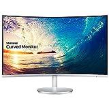 Samsung C27F591 Monitor Curvo, 27'', 1920 x 1080, 4 ms, Freesync, D-sub, HDMI, Flicker Free,...