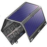 VITCOCO Caricabatterie Solare Portatile, 29W Pannelli Solari Dual-Port USB...
