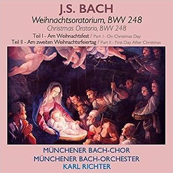 Bach · Weihnachtsoratorium (Teil I & II)