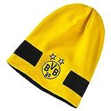 PUMA Mütze BVB Performance Beanie Cyber Yellow Black, One Size
