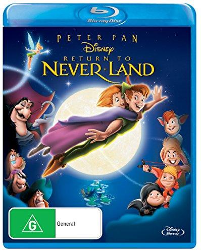Peter Pan - Peter Pan Return To Never Land (Edition 2 Displayschutzfolien) BluRay