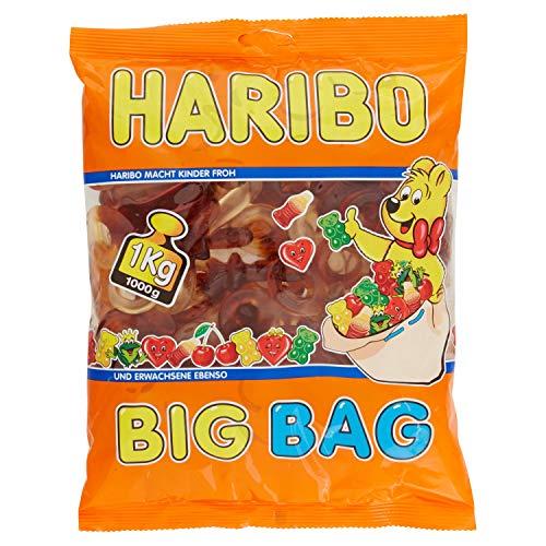 Haribo - Chupetes con forma de chupete, suaves, gomosos y con sabor a cola, 1 kg, Irresistibles para adultos y niños, perfectos para fiestas y dulces Relax, regalo perfecto, 1000 ml