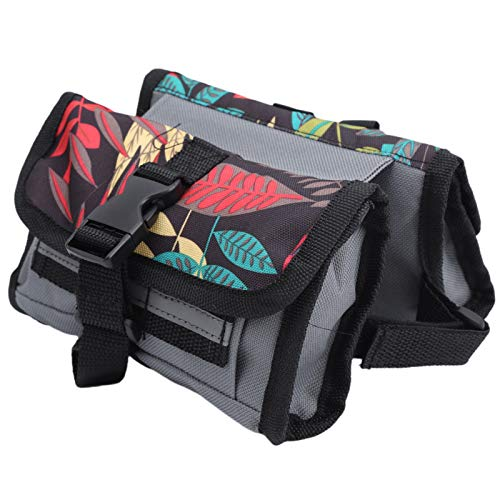 Germerse Front Beam Bags, Portable Mountain Bike Multi‑Functional Front Beam Riding Bags With Small Storage Bags Bicycle Frame Tube Package