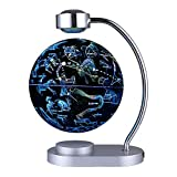 8-Inch Illuminated Constellation Luminous Rotation Magnetic Levitation Globe