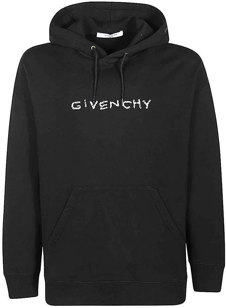 Givenchy, felpa per uomo,con cappuccio,in jersey di cotone BMJ03730AF-001