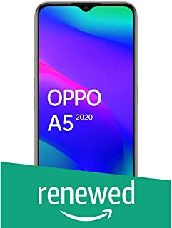 (Renewed) OPPO A5 2020 (Dazzling White, 4GB RAM, 64GB Storage) with No Cost EMI/Additional Exchange Offers