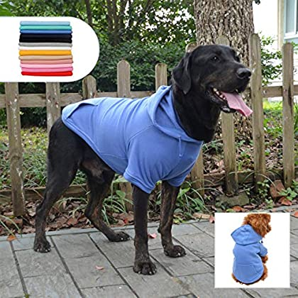 Unsere Haustier-Sweatshirts sind aus 100% Premium-Baumwolle, die dafür sorgt, dass warme Luft drinnen bleibt, super warm und weich. Stellen Sie sicher, dass Ihr kleiner Hund bei kaltem Wetter nicht zittern kann. Perfekte Größe – XS S M L XL sind für ...