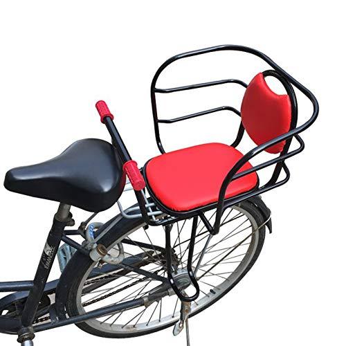 KHXJYC Seggiolino per Bambini per Bicicletta Montato Posteriormente, Sedile più Spesso per Aumentare La Sicurezza dei Bambini Montato Posteriormente