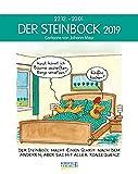 Steinbock 231819 2019: Sternzeichenkalender-Cartoonkalender als Wandkalender im Format 19 x 24 cm. - Johann Mayr
