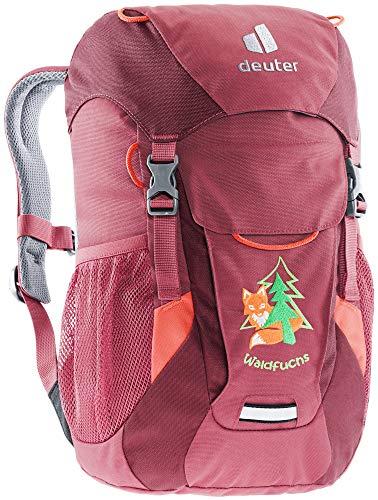 deuter 3610221 Waldfuchs Kindergartenrucksack (10 L), Cardinal-maron