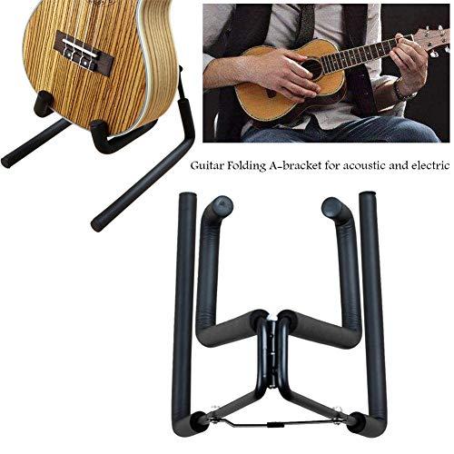 Brownrolly Folding Guitar Houders Haken Stands, A-beugel Gitaar Display Hangers voor akoestische en elektrische