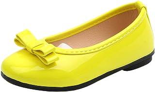 Zapatos de niña de Vestir,Subfamily- Zapatos Charol niña de Negros de Comodos Marcas Zapatos,Sandalias Bebe niña Zapatos de Fiesta,Tallas Grandes niña de 12Mes a 12 años