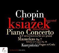 Chopin: Piano Concerto in F minor (version for one piano)