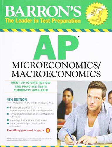 Barron's AP Microeconomics/Macroeconomics (Barron's Study Guides)