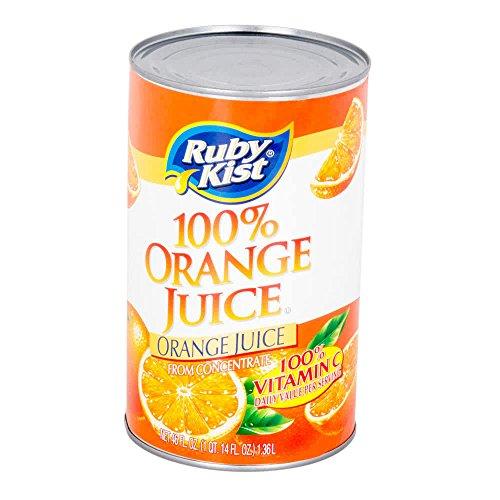 TableTop King 46 oz. Canned Orange Juice - 12/Case