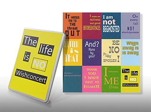 Postkarten Denglisch Set - Starterkit Nr 5 - Geschenkdose for Engleutsch-Oncatcher - 12 x Best of Denglish Sprüche zum Verschenken - Geschenk für Lehrer - Englisch lustig