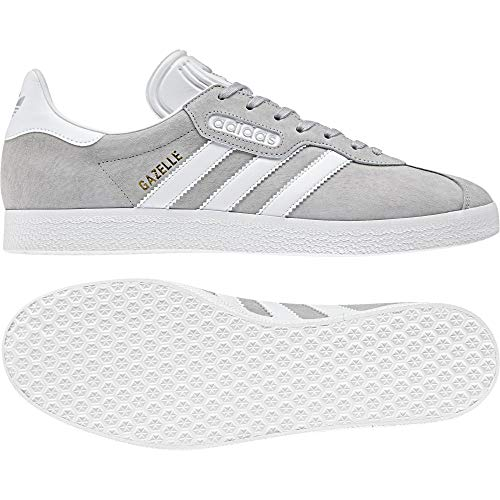 Adidas Gazelle Super Essential, Zapatillas de Deporte para Hombre, Gris Gridos Ftwbla Balcri 000, 48 EU