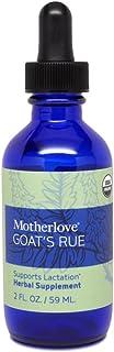Motherlove Goat's Rue Tincture (2oz) Herbal Lactation Supplement to Enhance Mammary Tissue Development & Breast Milk Suppl...