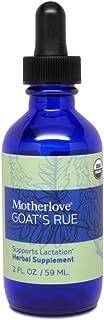 Motherlove Goat's Rue (2 oz.) Herbal Galactagogue Breastfeeding Supplement to Support Mammary Tissue Development & Milk Supply