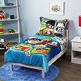 Ryans World Ryan's World 4Piece Toddler Bedding Set, Multicolor