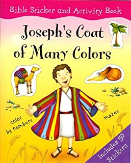 Joseph's Coat of Many Colors (Bible Sticker and Activity Book)