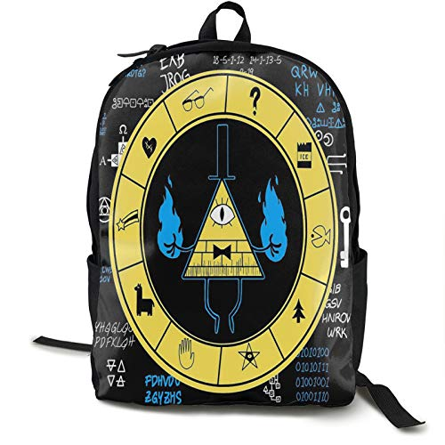 Gravity Falls Teen Boys Girls Backpack Big Boys Girls Bookbag Travel Outdoor Daypack