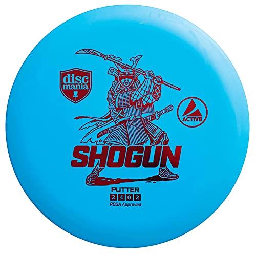Discmania Active Base Shogun Disc Golf Putter 165-170g (Colors May Vary)