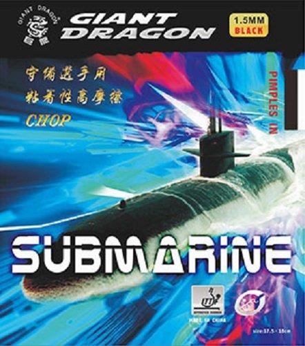 Tenis de mesa goma: Giant Dragon Submarino Rojo 1,0mm