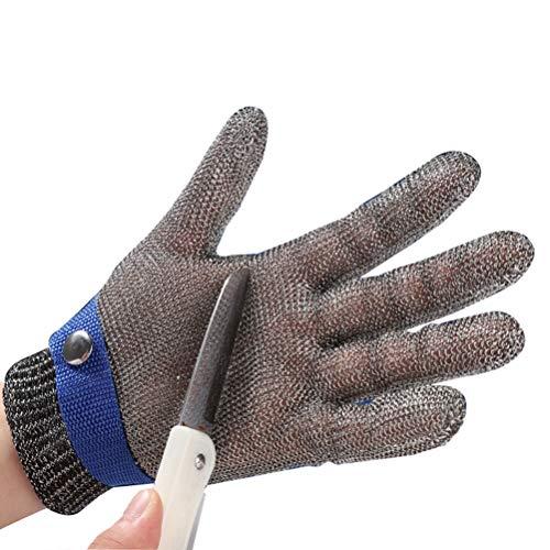 Schnittfeste Handschuhe-XHZ Edelstahl Grad Fünf Stahldraht Geschnittene Widerstandsfähige Handschuhe Schlachten, Fleisch Schneiden, Fisch Und Austern Töten, Verschleißfeste Metallschutzhandschuhe