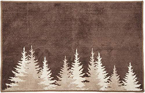 pine cone kitchen rugs - 7