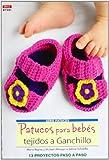 Crea Con Patrones Serie Patucos 1. Patucos Para Bebés Tejidos A...