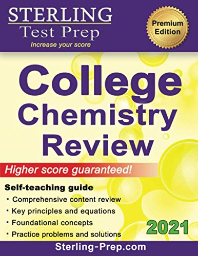 Compare Textbook Prices for Sterling Test Prep College Chemistry: Complete General Chemistry Review  ISBN 9781947556003 by Prep, Sterling Test