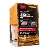 3M Headlight Restoration Kit, Simple Process to Restore Cloudy & Dull...