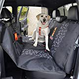 BDK Scooby Doo Waterproof Dog Seat Cover for Car Back Seat, Full Hammock Style – Heavy Duty Black Oxford Automotive Rear Bench Seat Cover for Dogs, Universal Fit for Car Truck Van and SUV