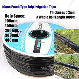 Garden Hoses & Reels - 1000m 16 * 0.2mm Space 10~40cm Patch Type Irrigation Drip Tape Agricultural Greenhouse Farm Water S...