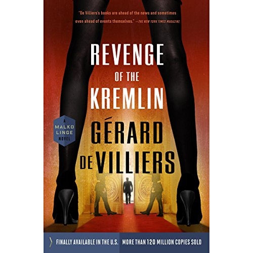Revenge of the Kremlin audiobook cover art