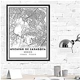 Muzimuzili Atizapan- Mexiko Karte, Zaragoza Stadtplan,