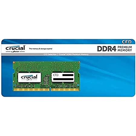 CFD販売 ノートPC用メモリ DDR4-2666(PC4-21300) 16GB×1枚 260pin (無期限保証)(相性保証)(Crucial by Micron) D4N2666CM-16GR