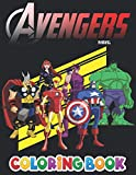 Avengers Coloring Book: +50 Superheroes Colouring pages for Kids and Adults,+50 Amazing Drawings - All Characters , Weapons & Other...(Original Design)